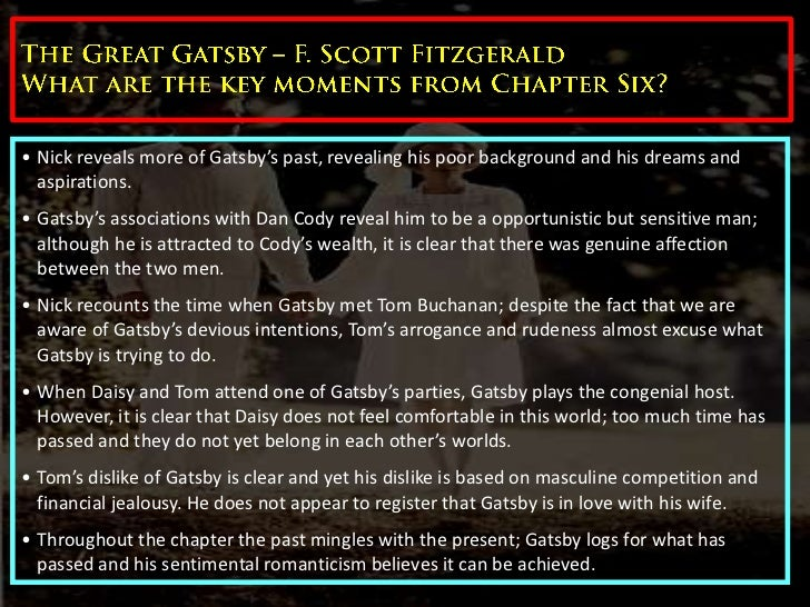 a conflict between wealth and responsibility in f scott fitzgeralds great gatsby This essay examines the upper class myths of lineage, institutional education, manners, and wealth fitzgerald uses the great gatsby's central conflict between tom buchanan and jay gatsby to illustrate his critique of american upper class values.