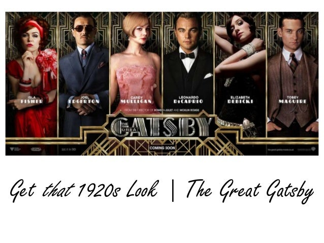 Get that 1920s Look | The Great Gatsby