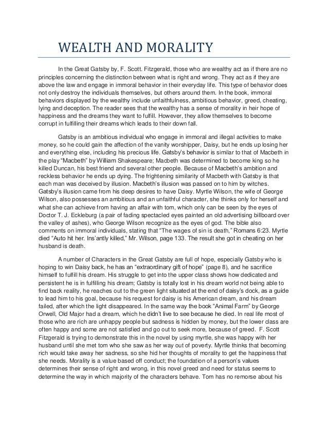 wealth essay