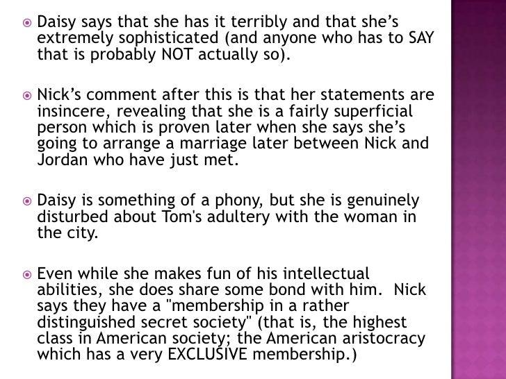 conversation between nick and jordan essay