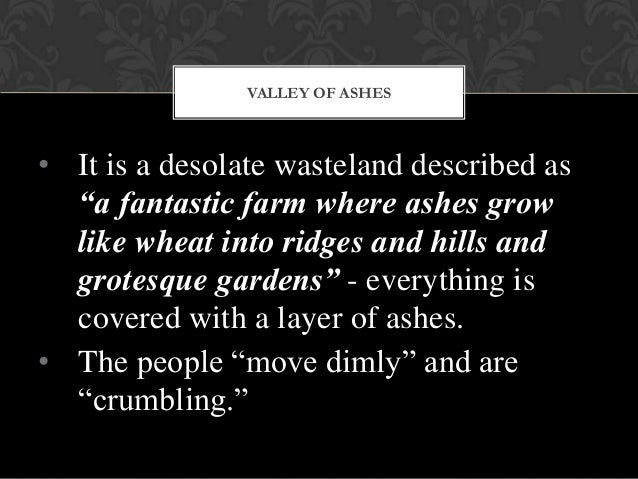 great gatsby decay of moral value A summary of chapter 2 in f scott fitzgerald's the great gatsby  the valley of ashes symbolizes the moral decay hidden by  giving them no fixed symbolic value.