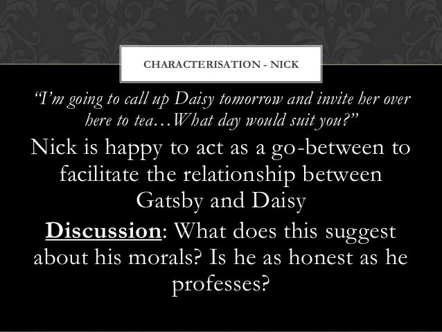 relationship between gatsby and daisy essay Get free homework help on f scott fitzgerald's the great gatsby: book summary, chapter summary and analysis, quotes, essays, and character analysis courtesy of cliffsnotes.