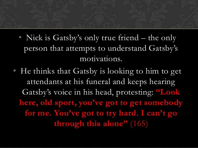 moral responsibility in the great gatsby The great gatsby questions - free download as word doc (doc / docx), pdf file what makes nick assume responsibility for the funeral arrangements what moral judgment does nick make about tom and daisy discuss they are all selfish, careless, messy people who retreated into the.