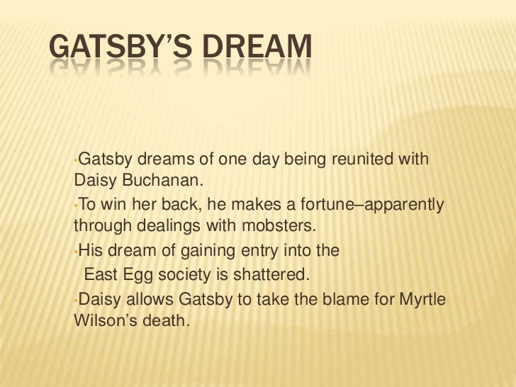 great gatsby ending analysis