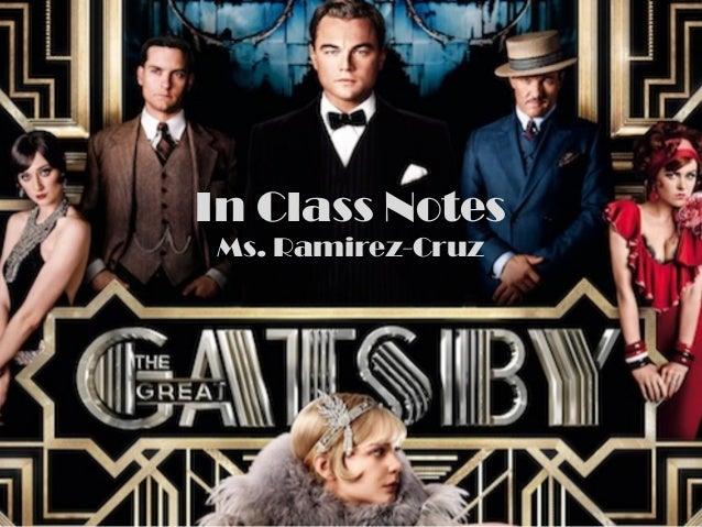 In Class NotesMs. Ramirez-Cruz