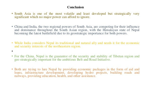 India nepal relations security strategic dimensions