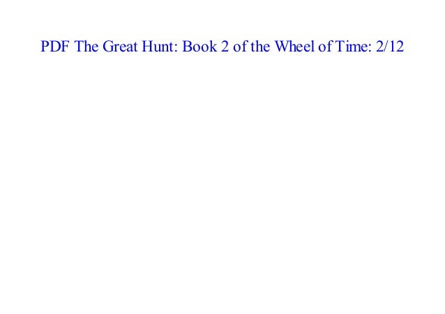 Wheel Of Time The Great Hunt Pdf