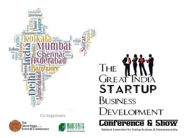 Co-organisers                National Convention for Startup Business & Entrepreneurship