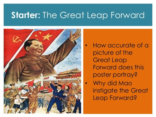 the great leap forward In search of a strategic breakthrough, mao embarked on the great leap forward,  a sweeping, terrifying and, ultimately, catastrophic economic.