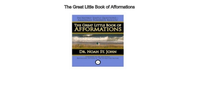 The great little book of afformations audiobook free | the great litt….