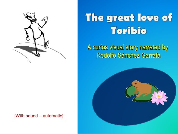 A curios visual story narrated by  Rodolfo Sánchez Garrafa [With sound – automatic ]