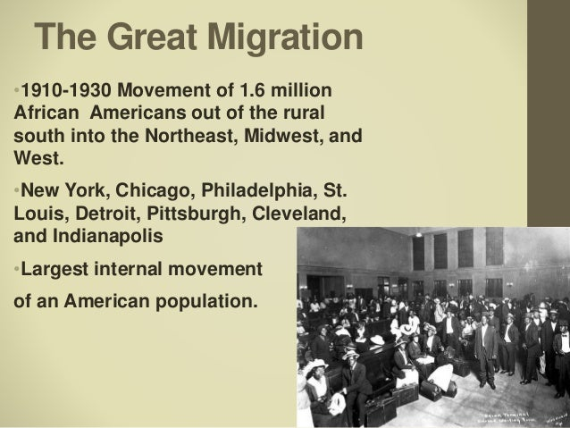 """the great migration of the west The african american """"great migration""""  while some moved west, the vast majority of this great migration, as the large exodus of african americans leaving the ."""