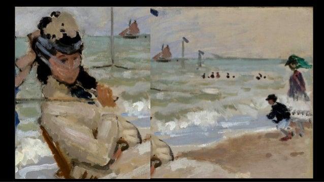 MANET, Edouard On the Beach 1873 Oil on canvas, 60 x 74 cm Musée d'Orsay, Paris