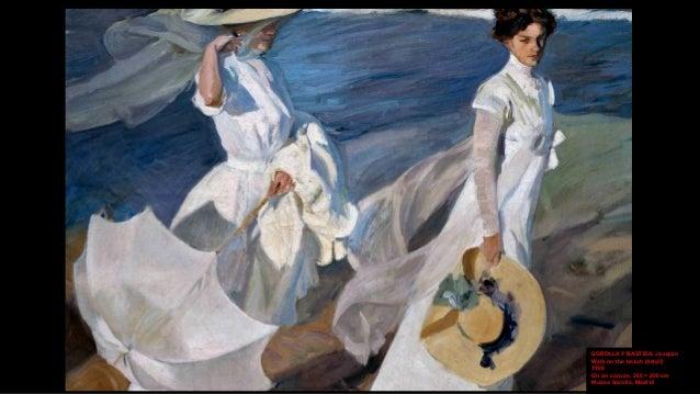 SOROLLA Y BASTIDA, Joaquín Walk on the beach (detail) 1909 Oil on canvas, 205 × 200 cm Museo Sorolla, Madrid