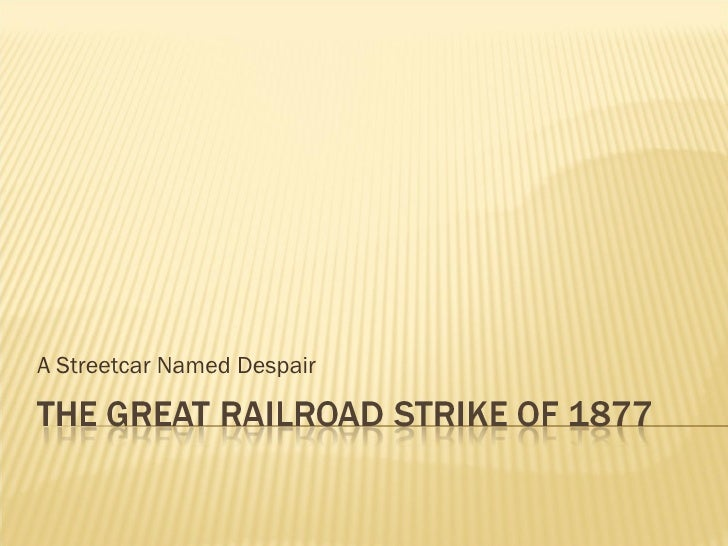 A Streetcar Named Despair