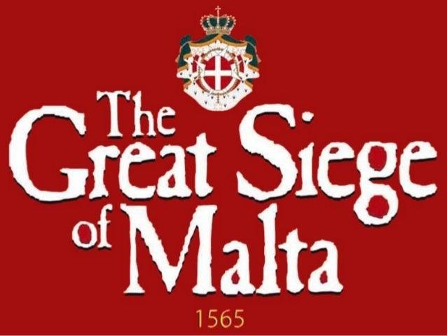 The Great Siege of Malta Slide 3