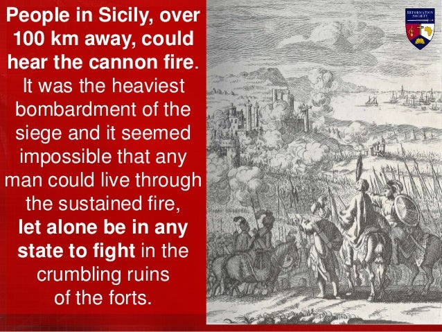 Then the Christian defenders leapt from their entrenchments and stormed the faltering attackers. The Muslims turned and fl...