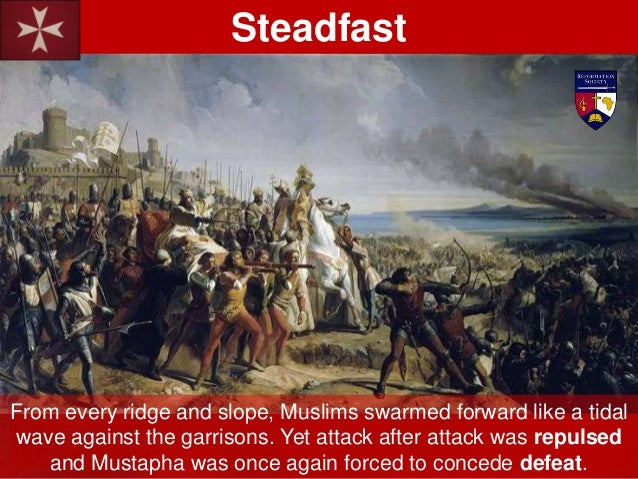 Yet, while the Turkish attack on St. Angelo was routed, their assault on St. Michael was succeeding. Turkish flags began t...