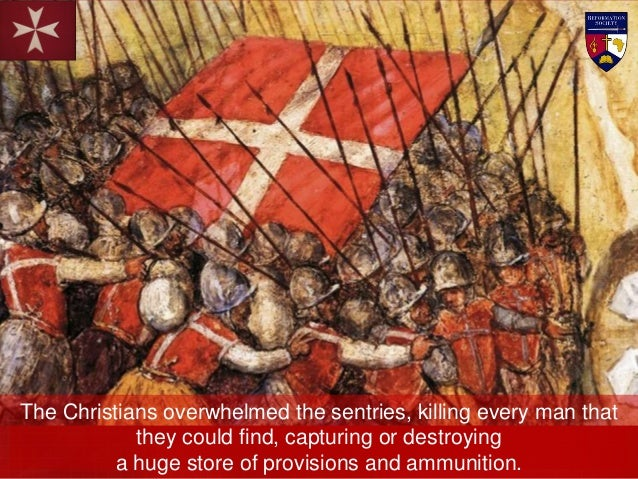 The knights and soldiers surged forward with incredible tenacity until, within a few minutes, the Turks were routed and fl...