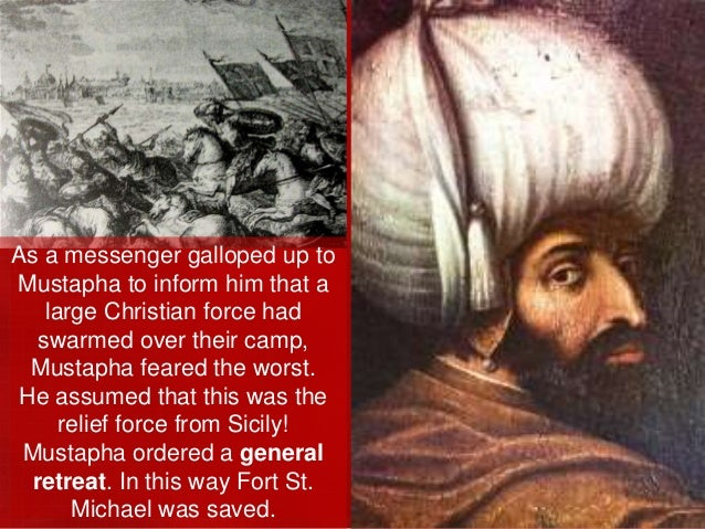 Now Mustapha unleashed his siege tower, which was higher than the walls. Janissaries used its platform to fire upon the de...