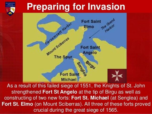 The Grand Master of the Order of St. John, Jean de la Valette, began vigorous preparations to enable Malta to survive an e...