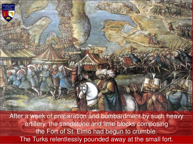 On 3rd June a new battery erected on Tigne Point opened up a steady fire on St. Elmo. Then the Janissaries attacked. Repul...