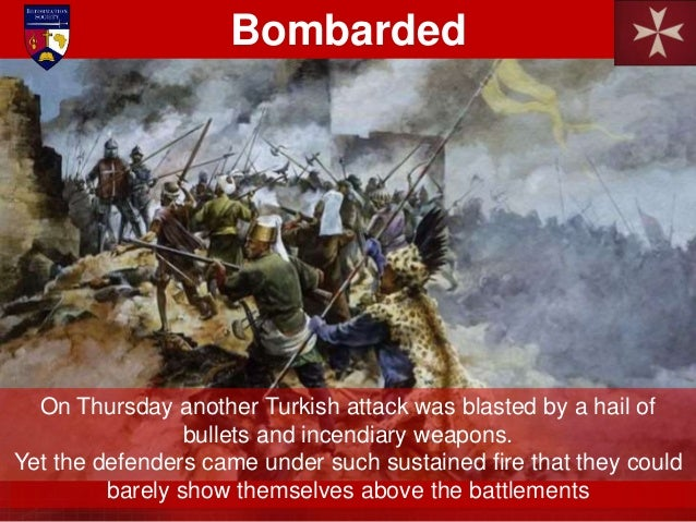 They were followed by a hoard of Dervishes, then the Janissaries. Each attack was decimated and sent fleeing by the feroci...