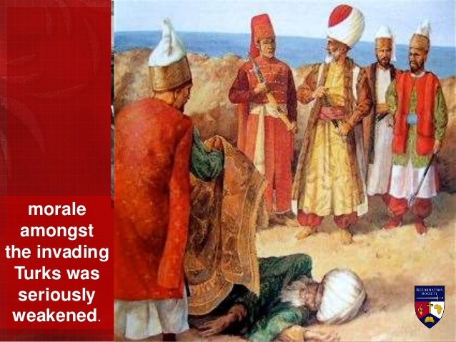 As the headless bodies of crucified knights washed up at the base of Fort St. Angelo, La Valette ordered their Turkish pri...
