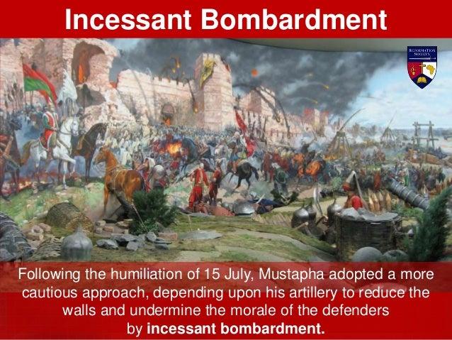 On 7 August, the Islamic assault was renewed. Like a tsunami, the enemy rushed upon Birgu and Senglea simultaneously. Slau...