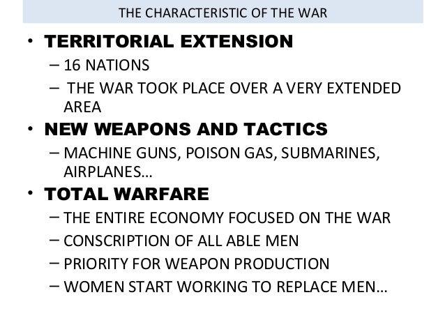 The Great War  4º eso Tema 7  IES Santa Catalina