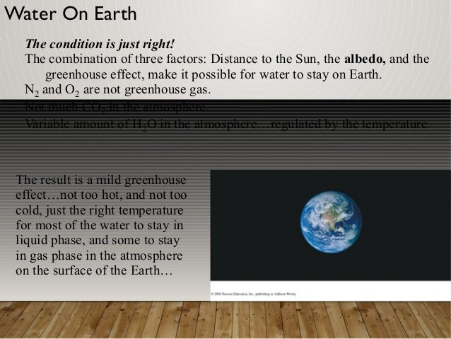 The greenhouse effect on earth Slide 3