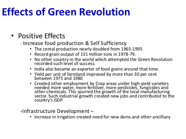 effects of the sugar revolution essay Transcript of positive and negative effects of the industrial revolution negative effects of factories working in a factory was not something people wanted to do.