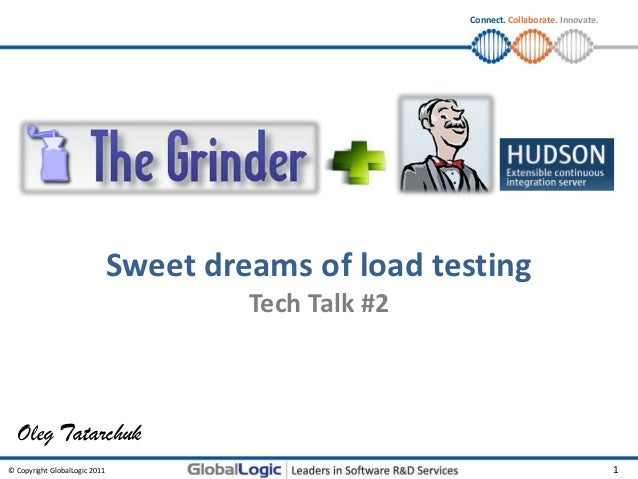 Connect. Collaborate. Innovate.                               Sweet dreams of load testing                                ...