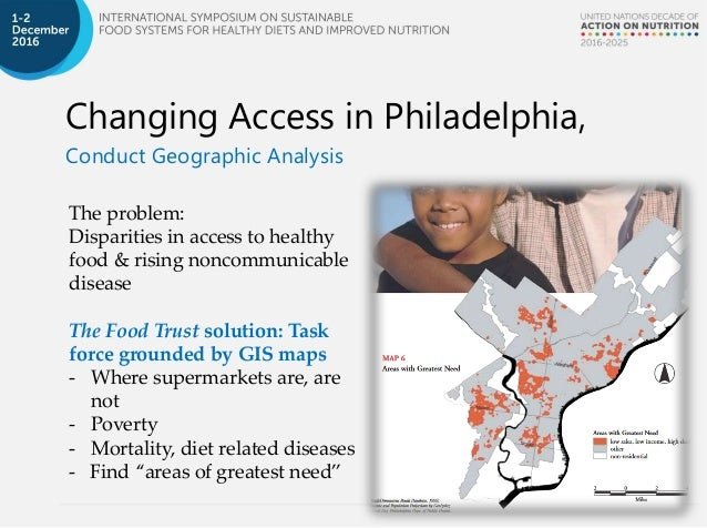 The Grocery Gap Food Retail Outlets Mapping And Reorganization For P - Philadelphia outlets map
