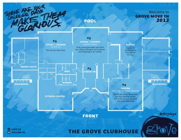 The Grove Clubhouse Floor Plan