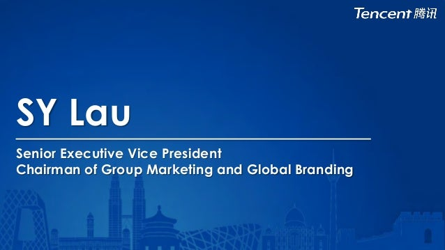 SY Lau Senior Executive Vice President Chairman of Group Marketing and Global Branding