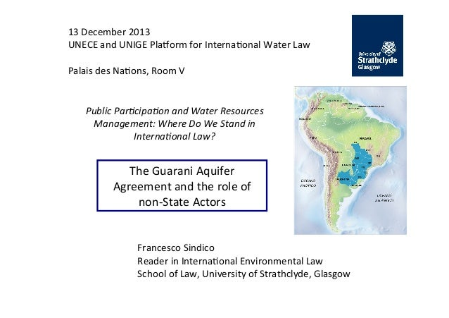 13	   December	   2013	    UNECE	   and	   UNIGE	   Pla7orm	   for	   Interna;onal	   Water	   Law	    	    Palais	   des	...