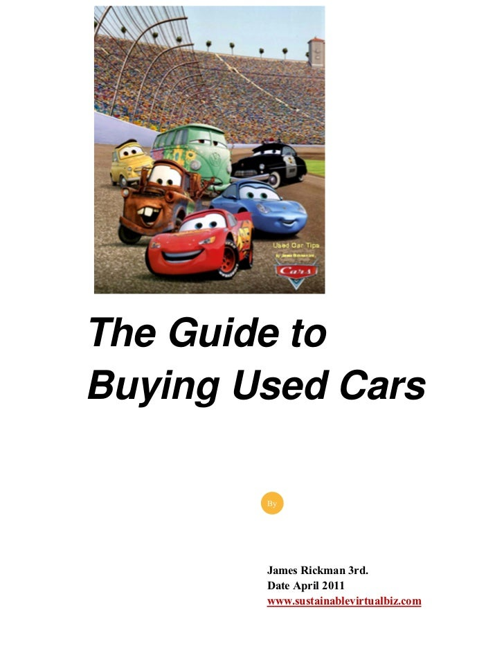 The Guide to Buying a Used Car