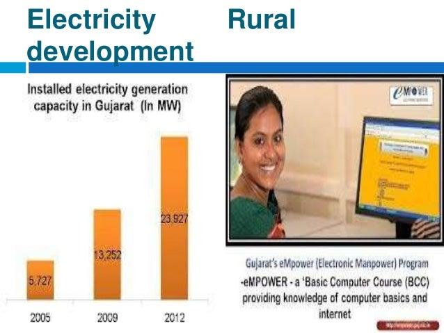 The gujarat model with Narendra Modi