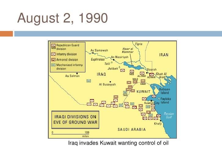 Iraq's Invasion of Kuwait