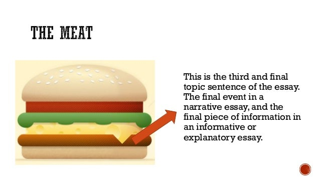 the hamburger essay outline 5