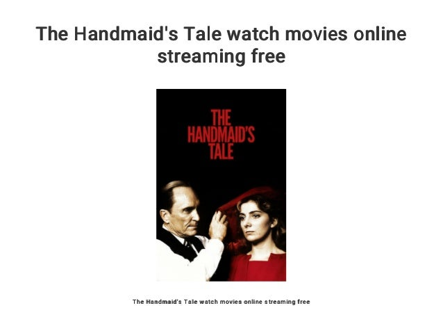 The HandmaidS Tale Stream Free