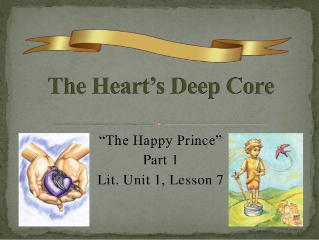 """""""The Happy Prince"""" Part 1 Lit. Unit 1, Lesson 7"""