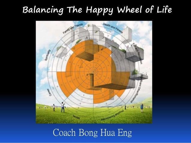 Balancing The Happy Wheel of Life Coach Bong Hua Eng