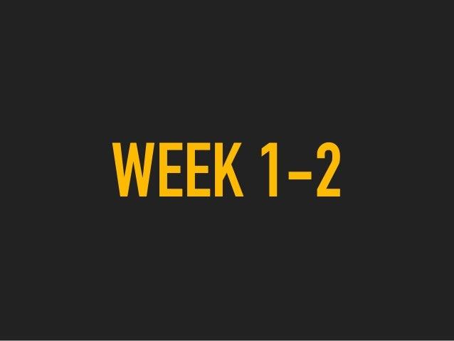 WEEK 1-2