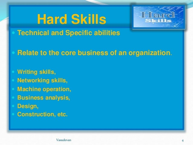 hard skills vs soft skills essay Employers are placing increasing emphasis on soft skills during hiring and promotion decisions be proactive in develop your soft skills today soft skills this will help you understand the difference between soft skill and other skills like hard skills, work attitudes.