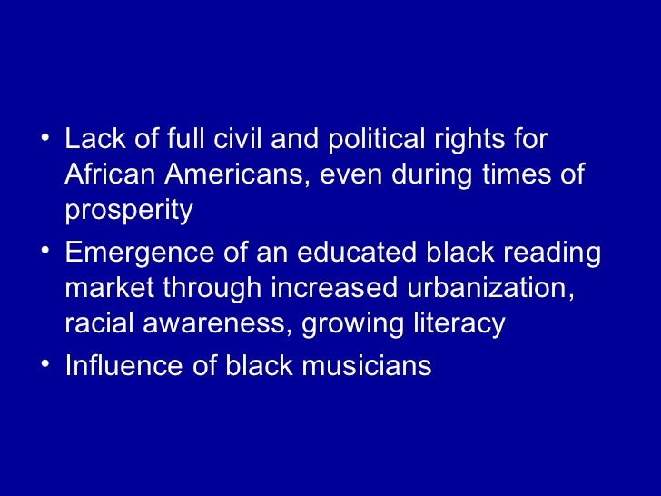 black collection essay harlem in music renaissance