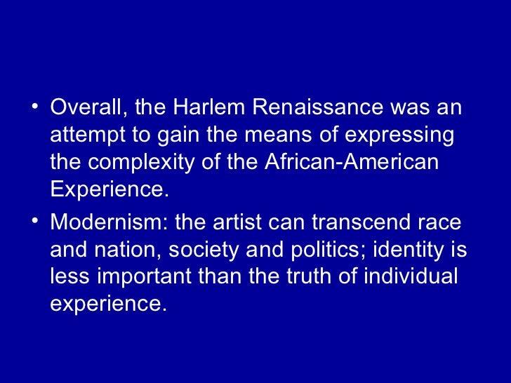 Harlem Renaissance