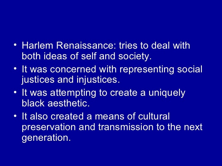 the harlem renaissance a black cultural The harlem renaissance denotes a specific period of black cultural flourishing,  which began in the early 1920s and ended just before world.
