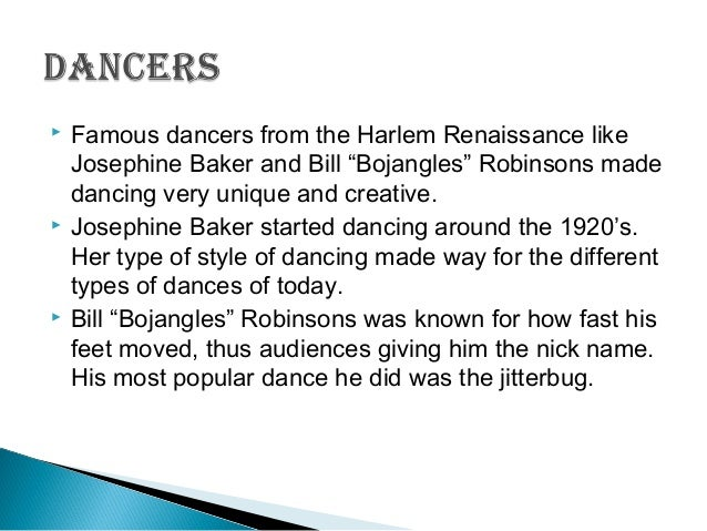 the harlem renaissance dance 7 1